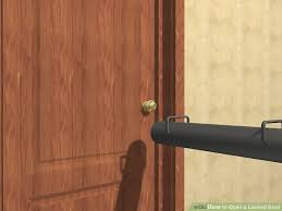 How To Unlock Bathroom Door Without Key 6 Easy Ways To Open A Locked Door Wikihow