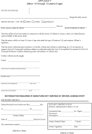 affidavit template free template download customize and print
