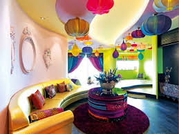 Bright And Colorful Living Room Design Ideas DigsDigs - Living room bright colors