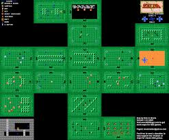 Metroid Nes Map Legendofzelda Firstquest Level 3 Manji Png 1280 1056 Level