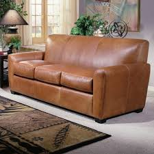 Leather Ottoman Bed Ottomans Leather Chair And A Half Sleeper Sleeper Chair