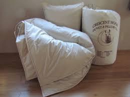 Wool Filled Comforter Crescent Moon Wool Alpaca Wool Comforters