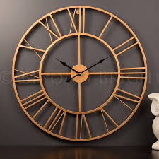 impressive copper wall clock 6 copper wall clock b u0026m best images