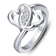 best platinum rings images Buy vorra fashion elegant platinum plated 925 sterling silver jpg