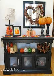 fall decor for entry console table loversiq