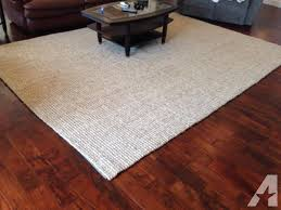 Pottery Barn Chenille Jute Rug Reviews Pottery Barn 9 U0027x12 U0027 Heathered Chenille Jute Rug Like New