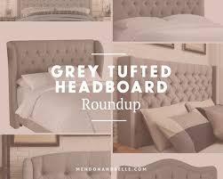 best 25 grey tufted headboard ideas on pinterest cozy bedroom