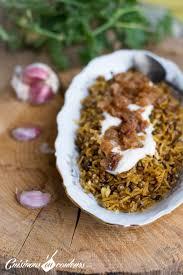 cuisine libanaise facile mujadarra le riz aux lentilles à la libanaise cuisinons en couleurs