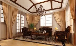 Curtain For Living Room by Living Room Lovely Living Room Curtain Idea For Bay Window