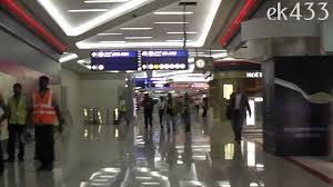 dubai international airport terminal 3 concourse a youtube