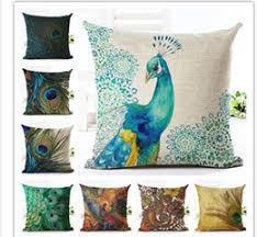 discount peacock feather home decor 2017 peacock feather home
