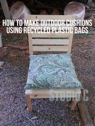 How To Cover Patio Cushions by A Cheap And Easy Way To Make Outdoor Cushions U2013 Designs By Studio C
