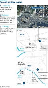 bureau de change vincennes second siege as hostages taken in supermarket