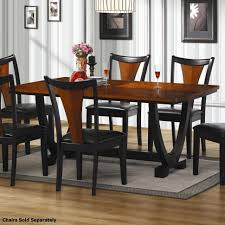 dining room wallpaper high definition black wood table black