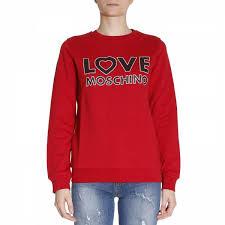 get discounts on designer sale moschino women clothing sweatshirt