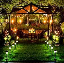 furniture backyard lighting ideas easy on the eye outdoor patio