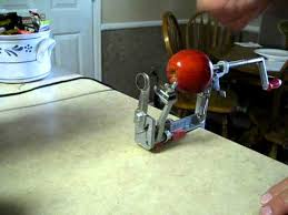 pam chef apple peeler how the pered chef apple peeler corer slicer works