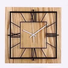 Wooden Wall Clock by Online Get Cheap Square Wooden Wall Clock Aliexpress Com