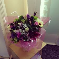 flowers delivered gemma mclaren on lovely flowers delivered to work today
