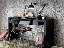 Black Gloss Console Table Buat Testing Doang Modern Dressing Tables Uk
