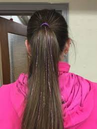 Seeking Tinsel Edc Hair Tinsel Festival Hair Accessory Hair Glitter