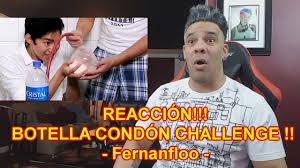 Challenge Escorpion Dorado Botella Condón Challenge Fernanfloo Reaction