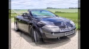 2004 black renault megane 1 6 cabrio youtube