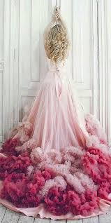 pink wedding dresses 100 colorful non white wedding dresses hi miss puff