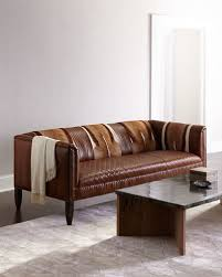 old hickory tannery pierce hairhide leather sofa leather sofa guide