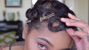 pin curl how to pin curl style hair
