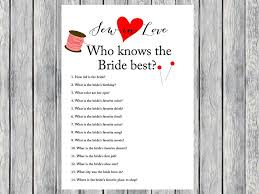 who knows the best who knows best how well do you bridal quiz