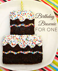 25 birthday brownies ideas chocolate fudge