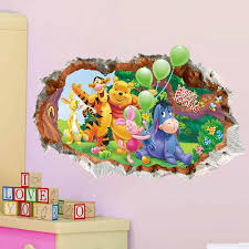 wall stickers wall decals designer wall art and murals in ireland 3d winnie the pooh wall stickers