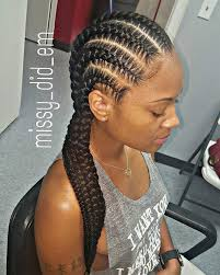 straight back hairstyle gallery braids straight back black hairstle picture