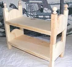 Barbie Bunk Beds Bed 2 Single Stackable Beds 4 Barbie U0026 Small Dolls