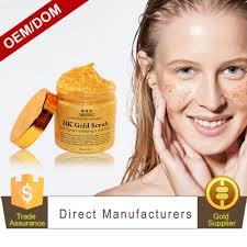 Scrub Gold oem odm 24k gold scrub for exfoliator with
