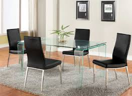 Modern Glass Dining Room Table Glass Dining Room Tables Endearing Glass Dining Room Furniture