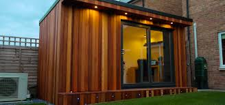 Office Garden Shed Garden Office With Hidden Storage Shed Built By Garden Fortress