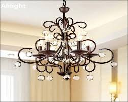 Crystal Chandelier Ball Furniture Magnificent Round Crystal Chandelier Ball Wood Finish
