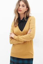 forever 21 v neck sweater where to buy how to wear