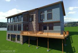 3d renderings of vacation homes castleview 3d blog