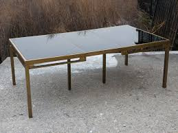 Glass Dining Tables For Sale Brass And Glass Dining Table Best Gallery Of Tables Furniture