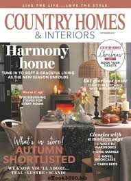 homes and interiors magazine country homes interiors october 2017 free pdf magazine