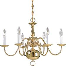 Chandelier Light Fixtures by Brass Chandeliers Hanging Lights The Home Depot