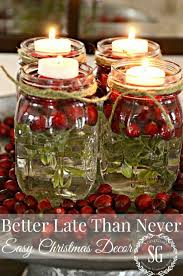 jar table decorations marvelous christmas table decorations with festive christmas table