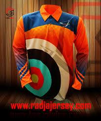 desain kaos archery baju archery jersey archery baju panahan