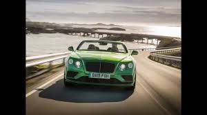 geneva 2015 refreshed bentley continental 2016 bentley continental gt speed coupe and convertible youtube