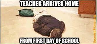 Teacher Back To School Meme - back to school pinot s palette