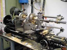 myford lathe heavily modified for ornamental turning complex