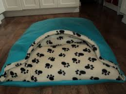 Cave Beds For Dogs Diy Dog Bed Homemade Our Little Dogs Love It Psy Pinterest